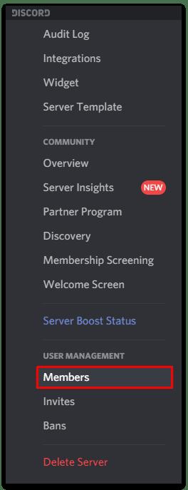 Members Discord